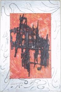 scultura su quadro in rilievo di luigi foscolo lombardi