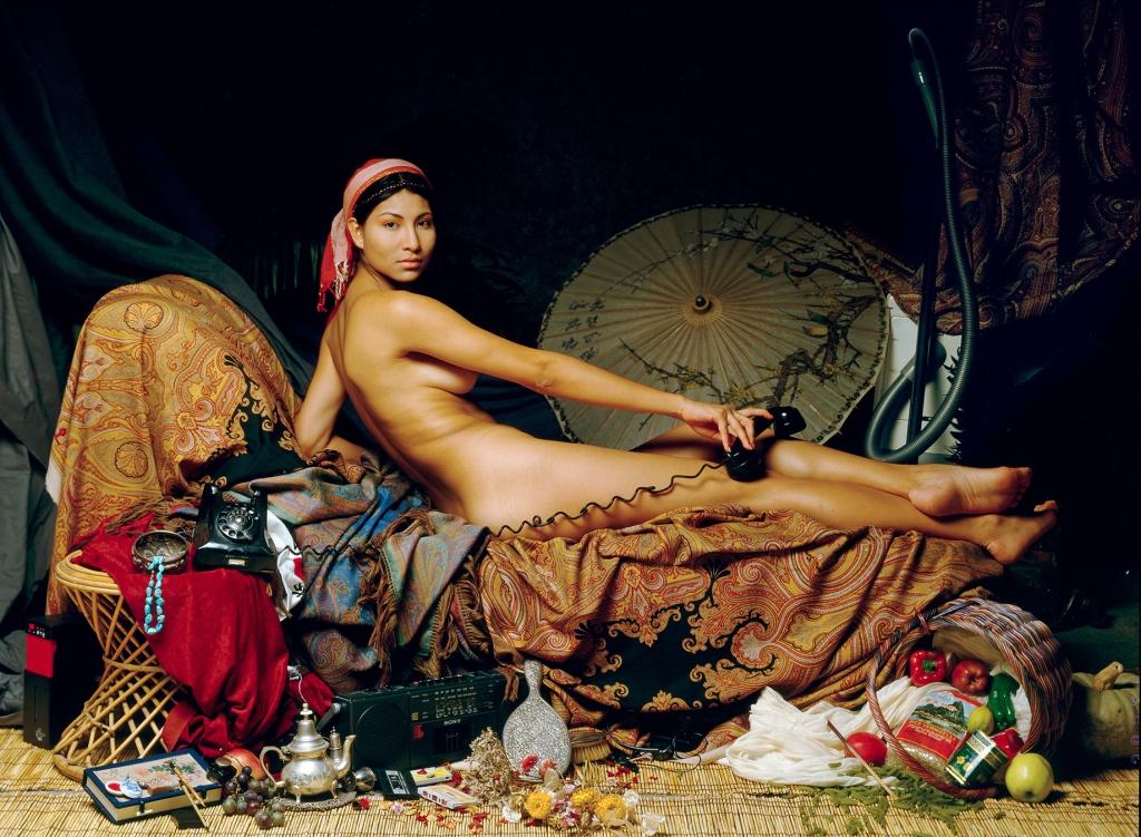 nudo di donna in ambientazione oprientale