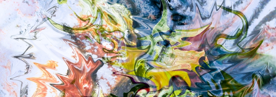 astrazione di forme fluide